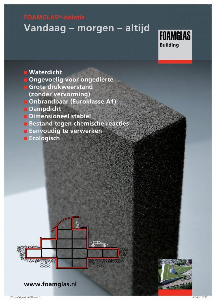 Foamglas website advertisement POST
