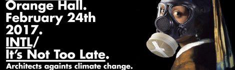 International Symposium   Architects against climate change