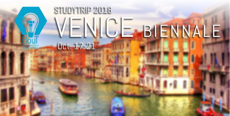 Study Trip Venice Biennale 2018 - Register now